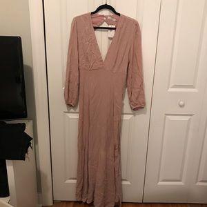 Lush Rose Maxi Dress